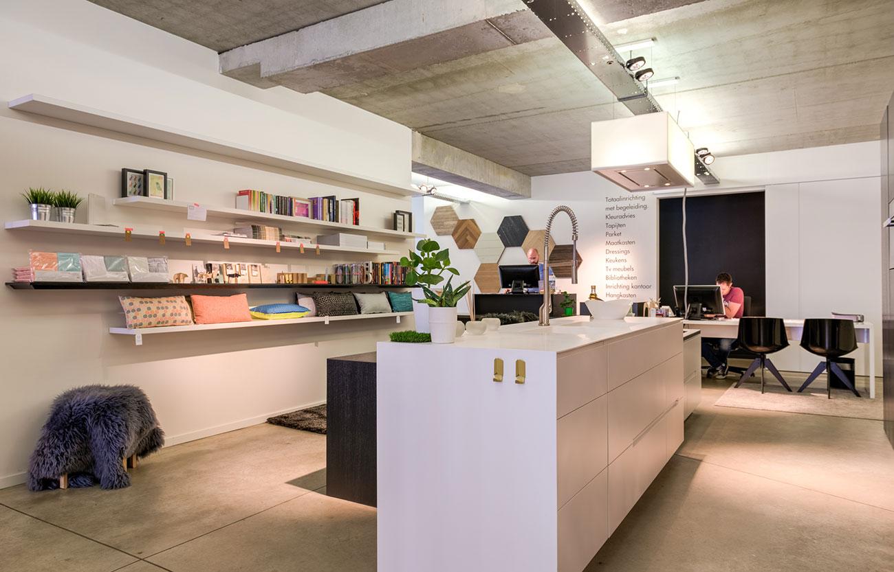 Hus Interieur_Showroom Antwerpen_Keuken