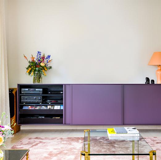 Hus Interieur - Project Postel - tv kast
