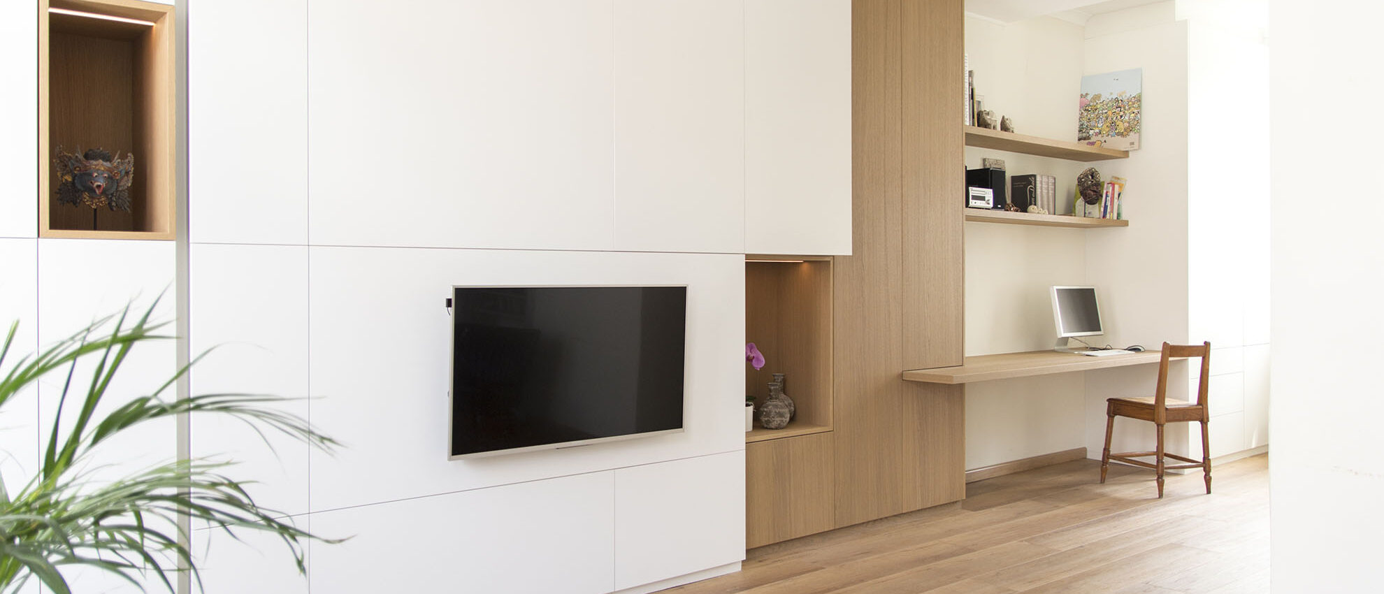 Hus Interieur - Portfolio - Project Brussel - Woonkamer