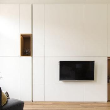 Hus Interieur - Portfolio - Project Brussel - Wandkast