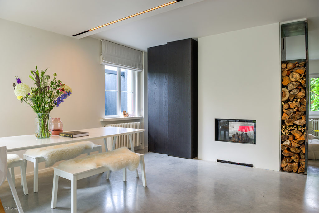 Hus Interieur - Portfolio - Project Schilde - Leefruimte