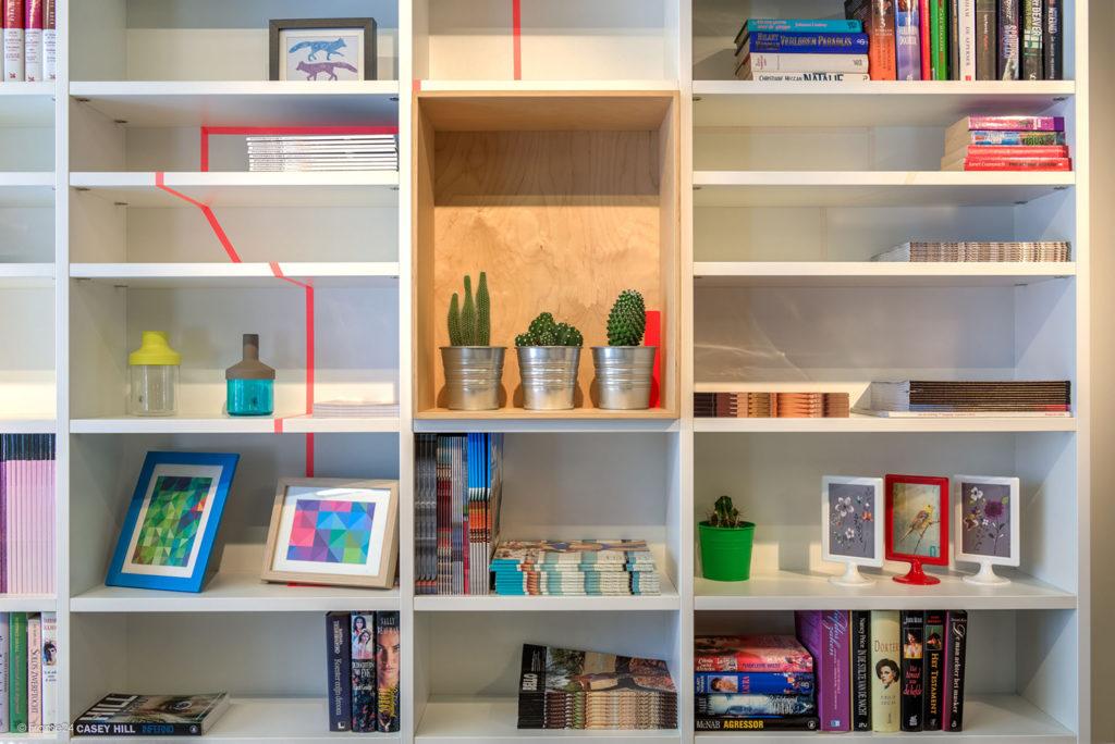 Hus Interieur - Portfolio - Toonzaalmodel - Bibliotheek
