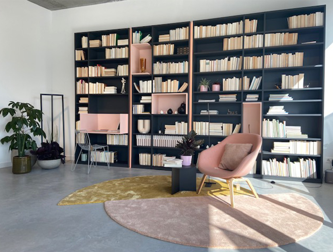 showroom hus interieur asse